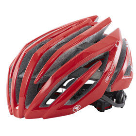Endura Airshell Bike Helmet red